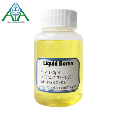PH 8.0-9.0 Colorless Liquid Boron